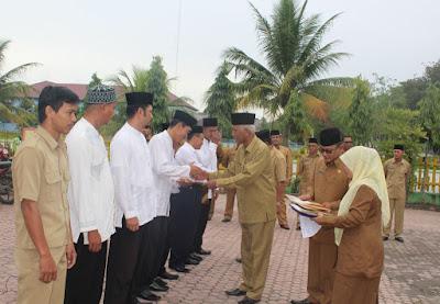 Plt Kemenag Tanjungbalai Serahkan SK P3N Masa Bakti 2017-2019