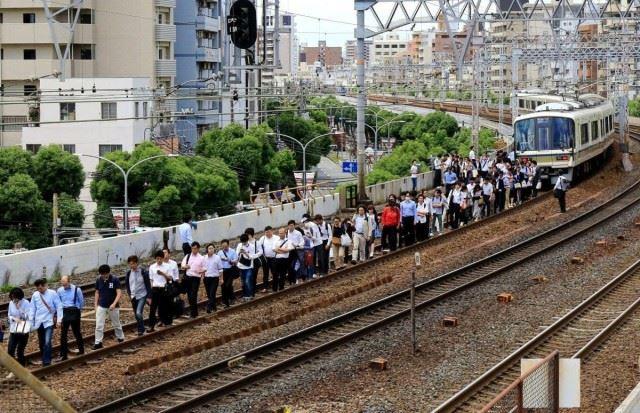 오사카 지진