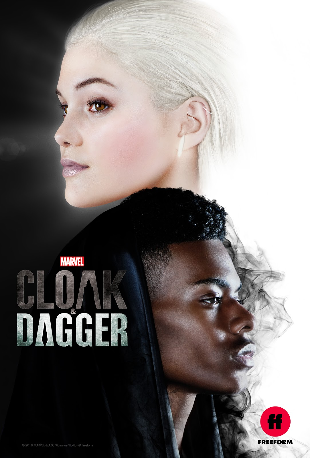 Marvel's Cloak and Dagger season 1 key art poster