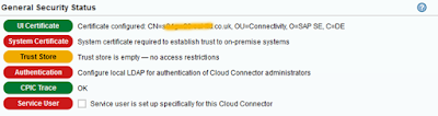 Secure your HANA Cloud Connector with OpenSSL certificates – Part 2