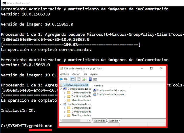 Windows: Home gpedit.msc