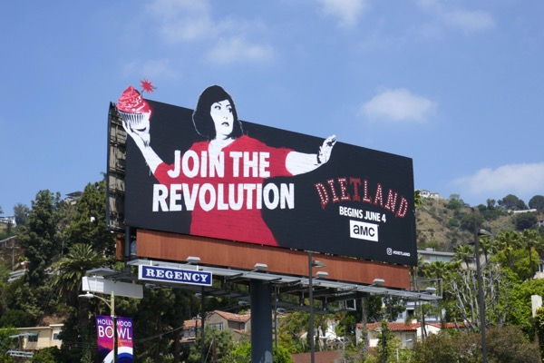 Dietland series launch billboard