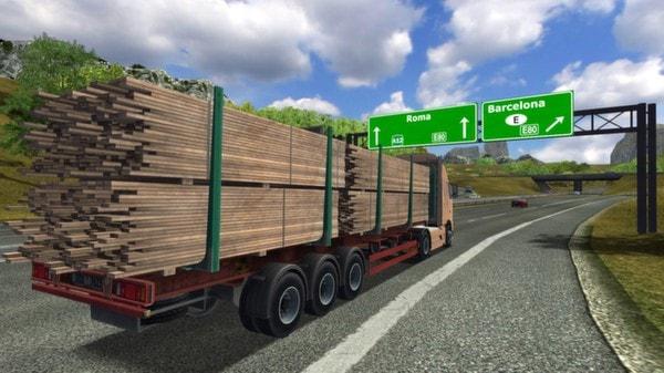تحميل لعبة قيادة الشاحنات للاندرويد برابط مباشر