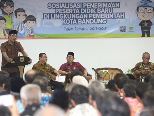 Sosialisasi PPDB Kota Bandung 2017