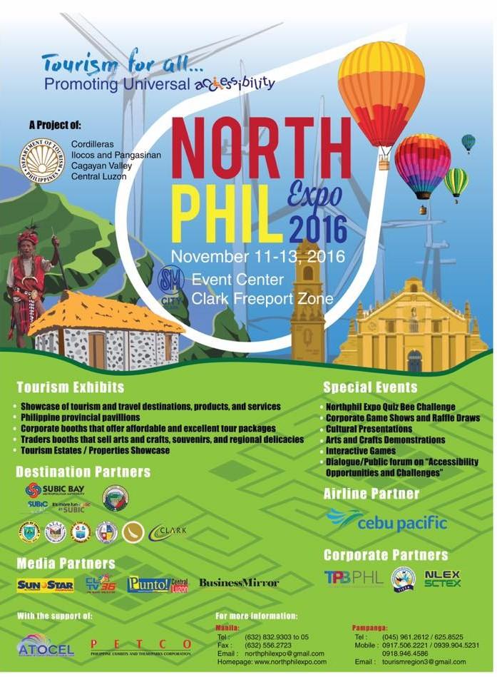 Manila Shopper: North Phil Expo at SM Clark: Nov 2016