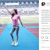 GALERI FOTO - Pura-pura Jadi Mandor Renovasi Stadion Utama Gelora Bung Karno, Sandra Olga Bikin Mata Melek-Adem