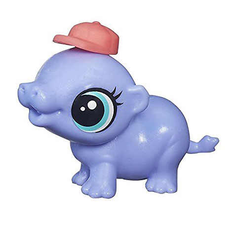 Littlest Pet Shop Hippo LPS Splasher Kiboko Pe...