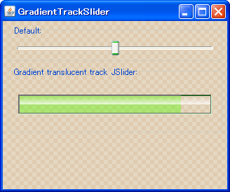 Java Swing Tips: JSlider