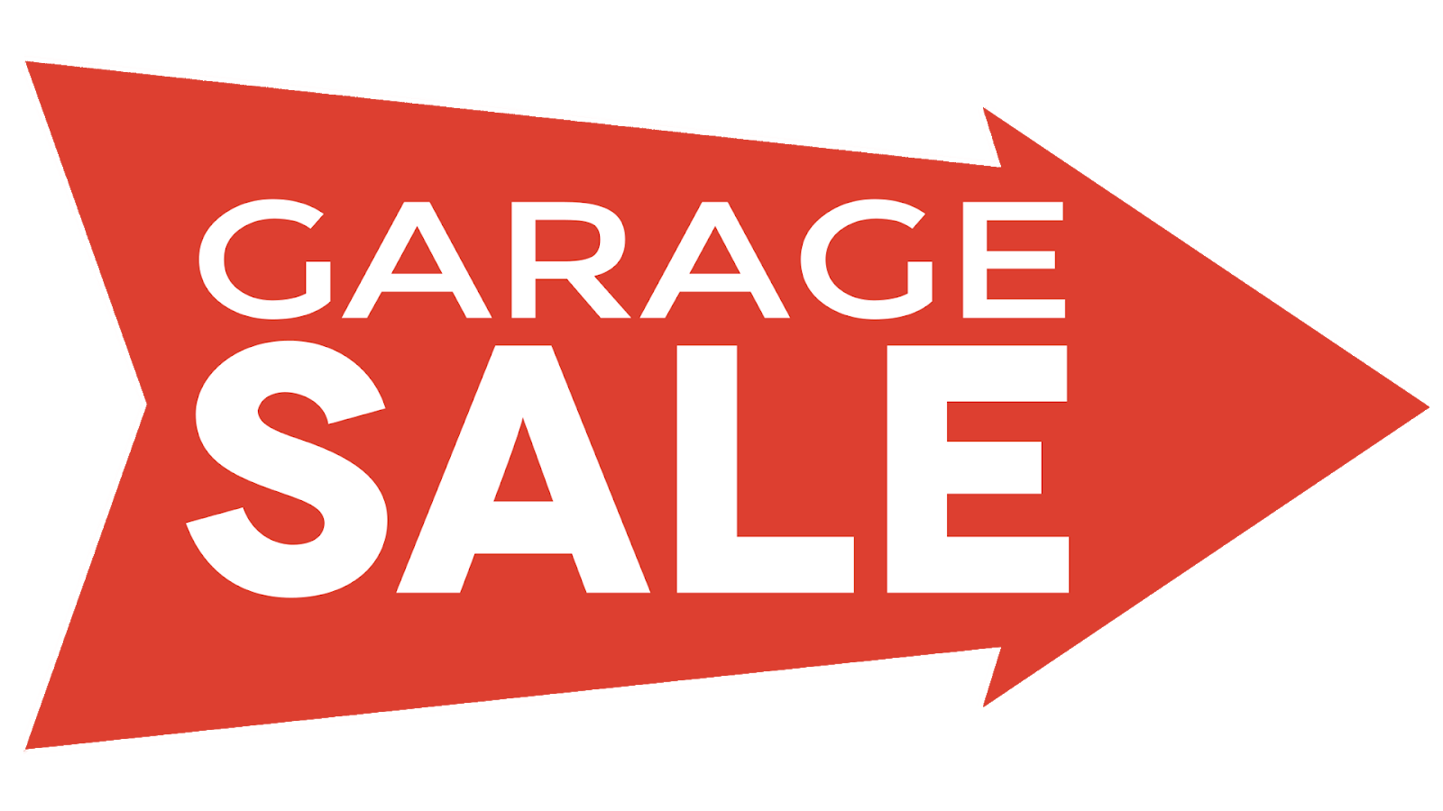 download large image garage sale fundraiser goal thermometer [ 1600 x 900 Pixel ]