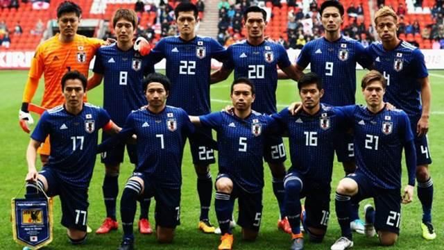Piala Dunia 2018 Timnas Jepang