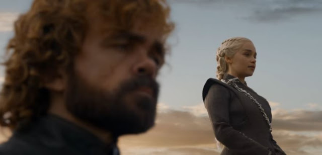 daenerys and tyrion in game of thrones season 7 episode 5