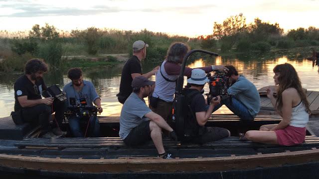 Primeras imágenes de la serie 'El Embarcadero'