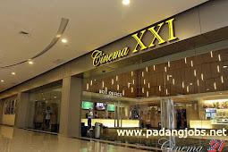 Lowongan Kerja Padang: Cinema XXI - Plaza Andalas Januari 2018