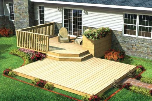 landscape design ideas great beauty with patio designs and deck designs