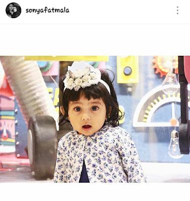Anak Pertama Sonya Fatmala dan Hengky Kurniawan