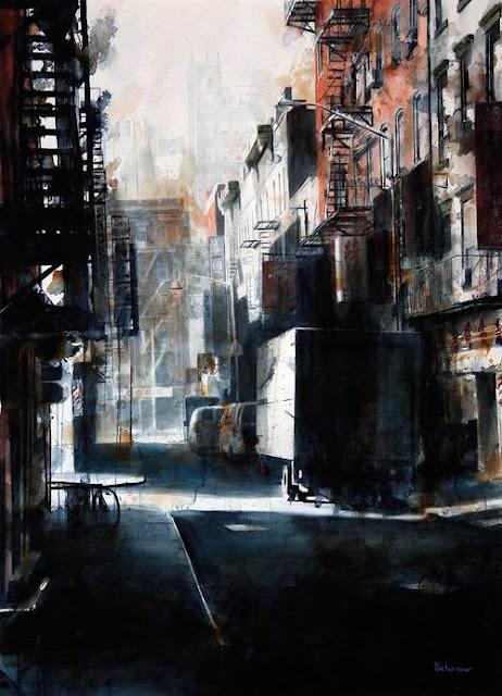 Tim Saternow watercolour