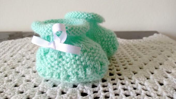 Sapatinho Bebê Fofura Verde
