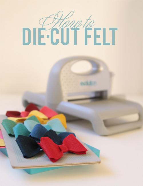 how to die cut felt