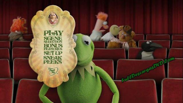 The Muppets DVDR NTSC Español Latino Descargar ISO 2011