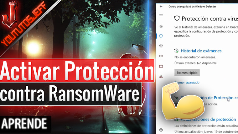 Activar Protección contra RansomWare en Windows 10 Fall Creators Update