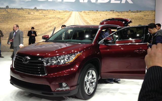 Toyota Highlander 2017 sẽ sớm được ra mắt