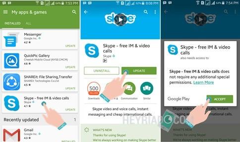 Cara Update Aplikasi Android di Google Play Store