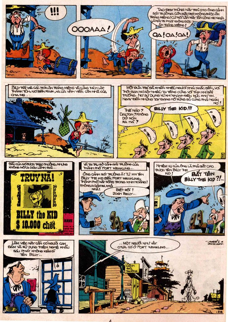 Lucky Luke tap 7 - ten billy the kid trang 2