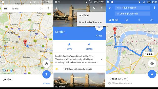 Cara Menggunakan Offline Google Maps (Peta offline): Navigasi tanpa koneksi internet