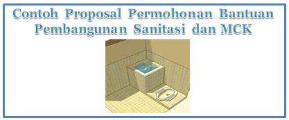 Contoh Proposal Permohonan Bantuan Pembangunan Sanitasi dan MCK