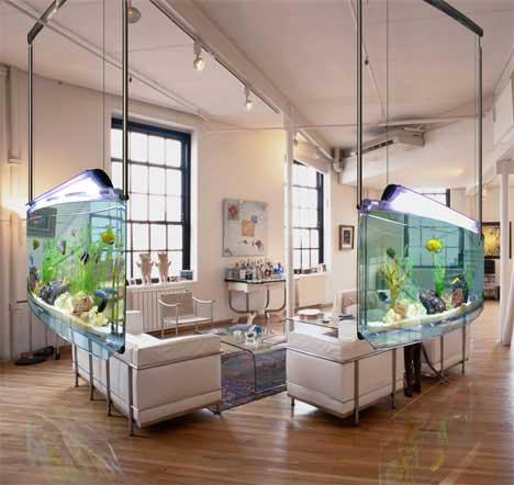 modern home aquarium design ideas ~ Interior Decoration ...
