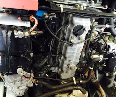 Nội, ngoại thất: Bán xe nâng xăng ga NISSAN 2,5T 2