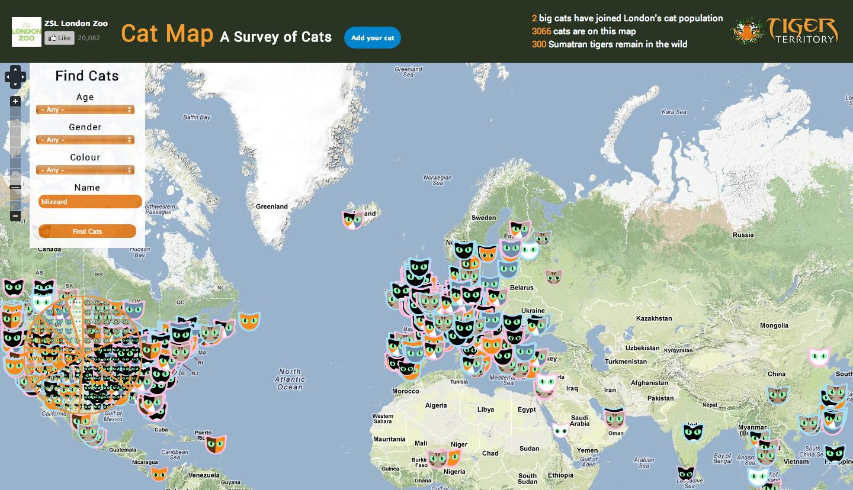 Cat Map Of The World.Matt Mikalatos Wonderful Wednesday The Cat Map