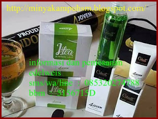 collavit cleanser dan body lotion