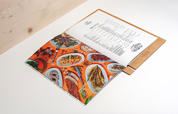 Best and creative restaurant menu designs for