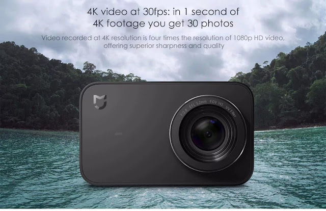 Coupon Xiaomi Mijia MINI Action Camera on Gearbest