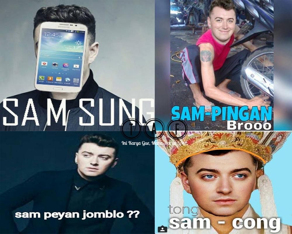 Lucunya Meme Sam Smith Bikin NgakakSumpah Pedasbangetcom