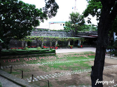 Cebu City Tour | Fort San Pedro | www.jhanzey.net