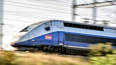 τρένο υψηλής ταχύτητας -