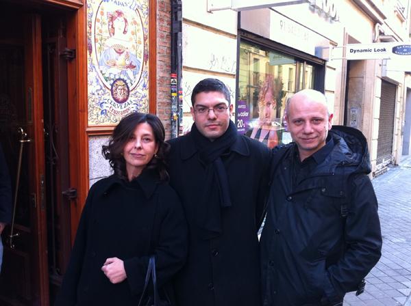 Con el director de Chico y Rita