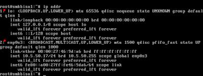 Konfigurasi ip address pada debian 9