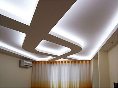 How to build a floating ceiling, floating ceiling panels and designs, suspended ceiling