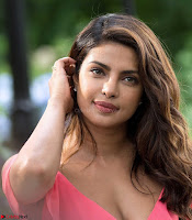 Priyanka Chopra in a Deep neck Red Gown on the Set of Isnt It Romantic ~  Exclusive Celebrities Galleries 019.jpg
