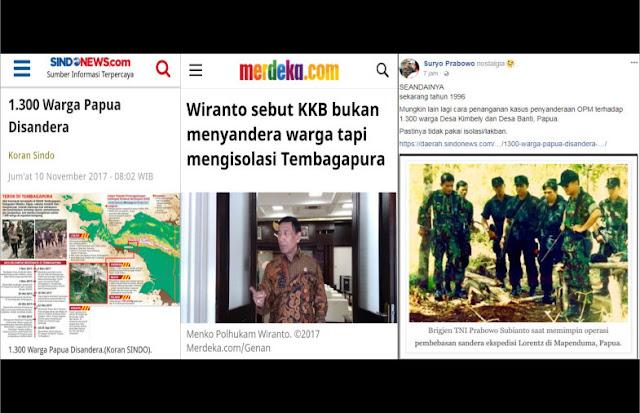 Wiranto Sebut KKB Hanya Mengisolasi, Suryo Prabowo: Seandainya Ini Tahun 1996..