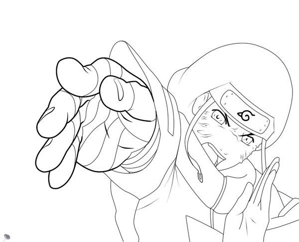 Dibujos Para Colorear De Kakashi: Naruto Shippuden - Neji Hyuga Para Dibujar