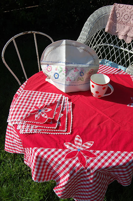 tea for two in the summer garden