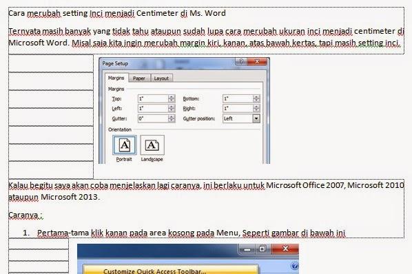 Cara Menghilangkan Garis-Garis Pada Ms. Word - Artikel ...