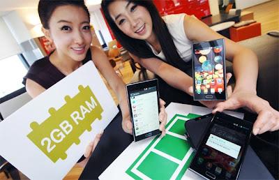Rumor LG L9 codinome F180 com processador quad-core e 2g de RAM 1