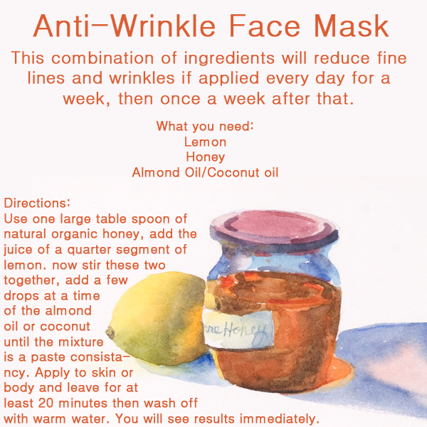 Do it yourself diyideas magazine anti wrinkle face mask anti wrinkle face mask solutioingenieria Choice Image
