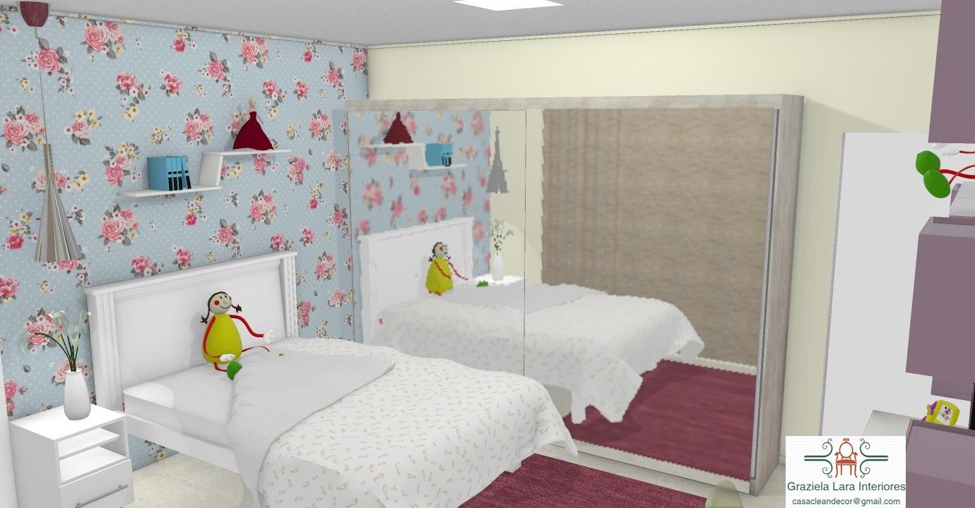 Construindo Minha Casa Clean Quartos De Menina E Menino Decorados  ~ Tapetes Para Quarto De Menino E Foto Na Parede Do Quarto