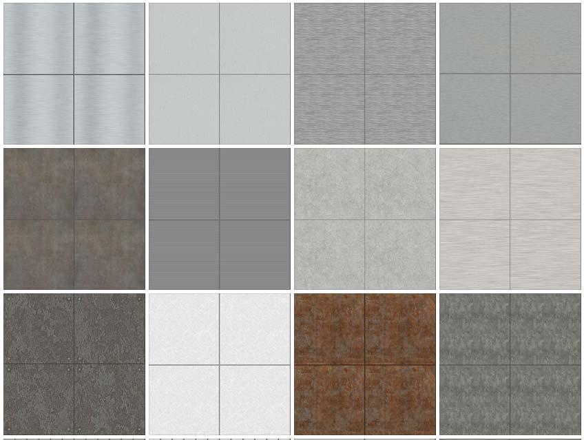 metal panel texture.  Texture SEAMLESS TEXTURES CLADDING METAL PANELS 1 DOWNLOAD For Metal Panel Texture